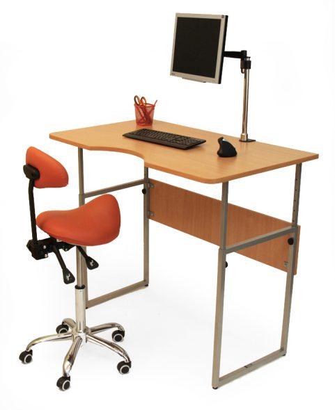 Table à réglage mécanique