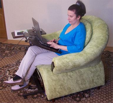 Table d'ordinateur portable