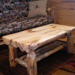 Table en bois massif pour le jardinage