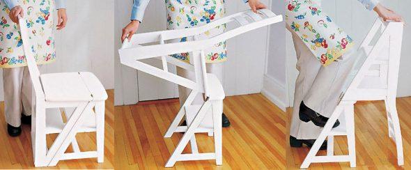 Échelle de chaise - commodité et fonctionnalité