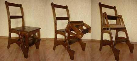 Chaise - escabeau