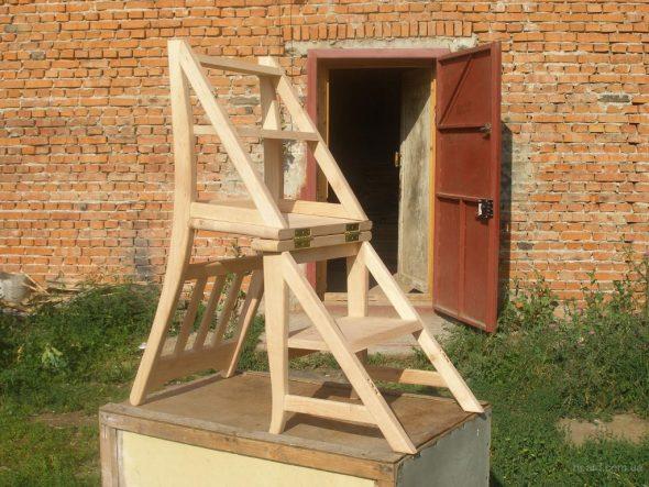 Escabeau fauteuil faites le vous même