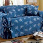 Housse d'hiver avec des liens au canapé