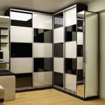 Modèle noir et blanc du meuble