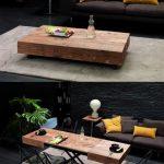 Table de transformation moderne en bois