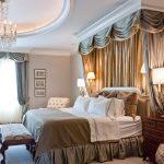 Design de chambre de luxe avec un petit auvent