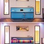 Transformateur de meubles compact et confortable à l'intérieur