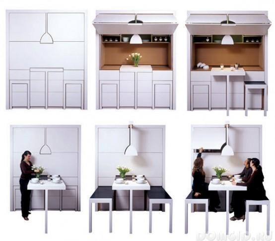 Transformateur de meubles pour cuisine