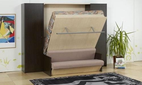 Le lit transformant est pratique dans les petites pièces