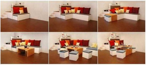 Mobilier modulaire