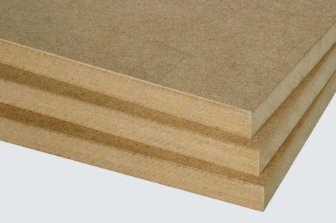 MDF - copeaux de bois homogènes