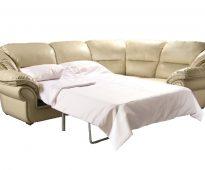 Canapé d'angle en cuir de luxe