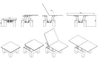 Disposition de la table