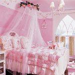 Auvent aérien pour la décoration de la chambre de la fille