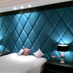 Grande tête de lit avec motif - diamants
