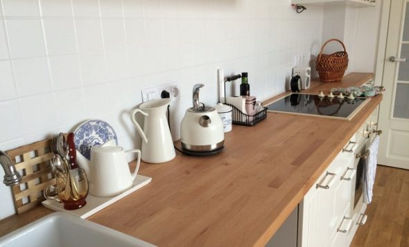 Plateau de table en bois collé