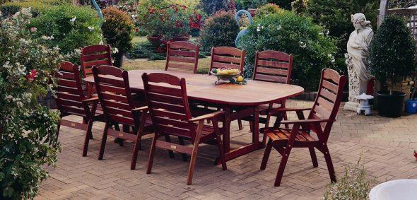Ensemble de mobilier de jardin