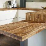 Beau plateau de table en bois massif