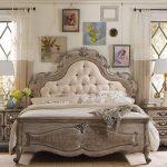 Belle tête de lit vintage avec insert souple
