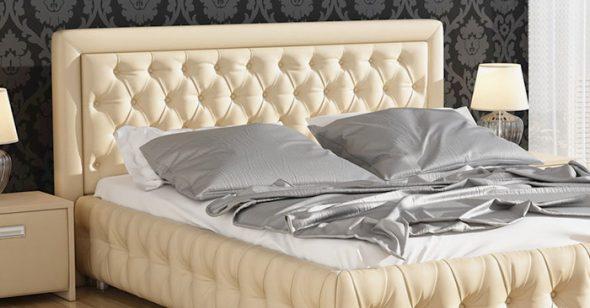 Lits avec tête de lit souple
