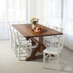Table en bois de cuisine