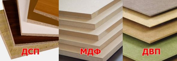 Panneau de particules, MDF ou panneau de fibres