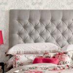 Tête de lit douce avec rembourrage