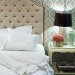Tapis de lit doux en beige