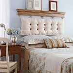 Tête de lit rectangulaire à charnière souple