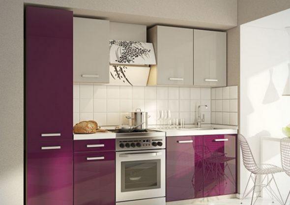 Cuisine violet laiteux