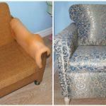 Nouveau fauteuil pour un nouvel intérieur