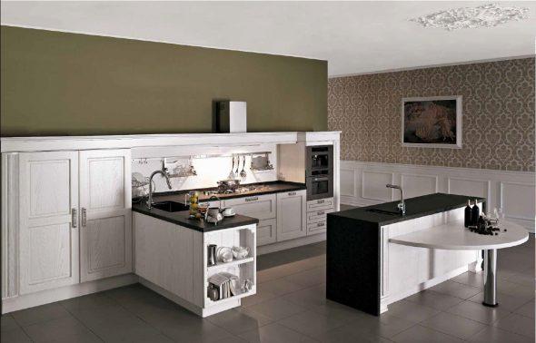 Küchen ohne Oberschränke: Wie werden sie im Innenraum ...