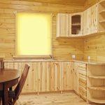 Simple belle cuisine en bois faites-le vous-même