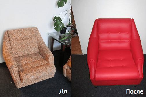 Restauration de meubles avant et après