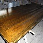 Comptoir en bois fait maison pour la cuisine