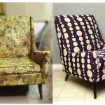 Solution élégante pour un salon moderne à partir d'une vieille chaise