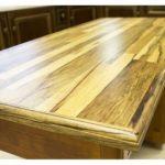 Table avec plateau