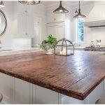 Dessus de cuisine en bois blanc