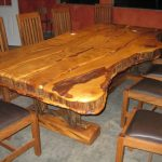 Plan de travail pour table de cuisine en bois naturel