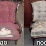 Chaise vintage d'une nouvelle manière