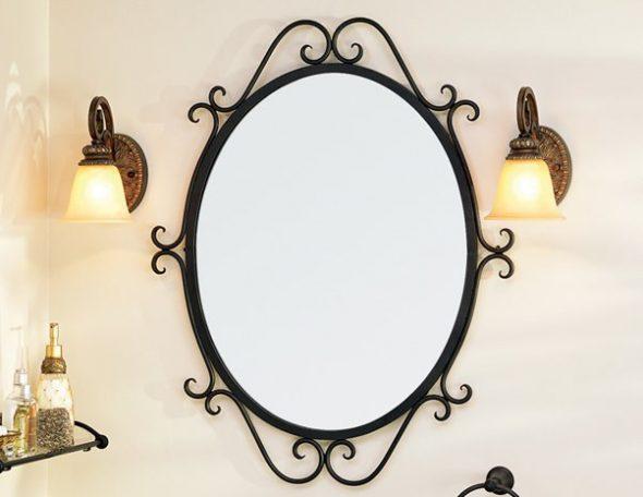 Miroir dans le cadre
