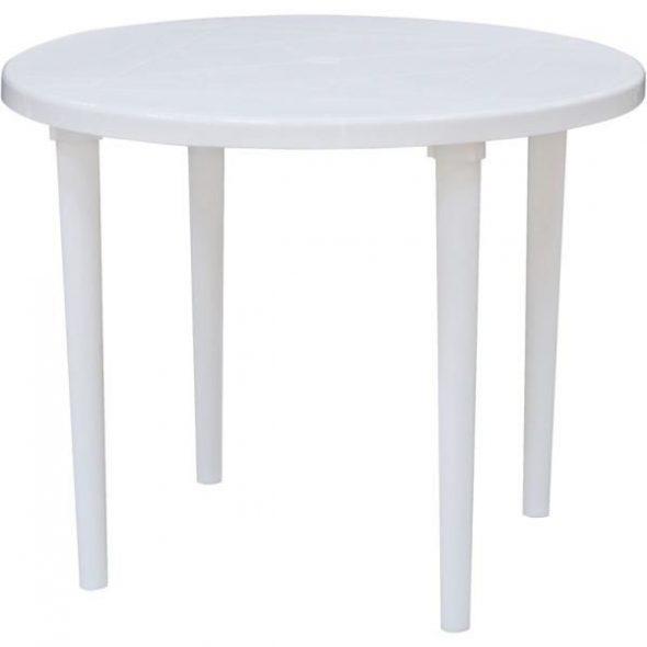 Table en plastique
