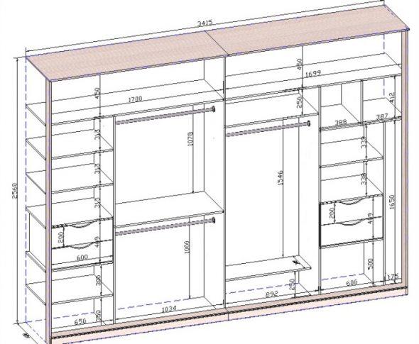 Grande armoire rectangulaire