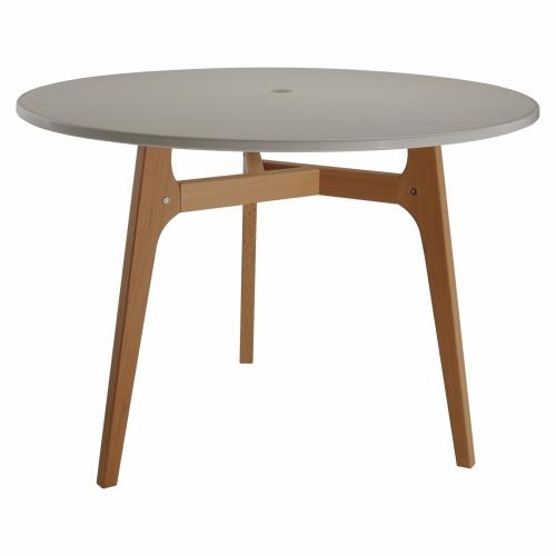 Table ronde sur 3 pieds
