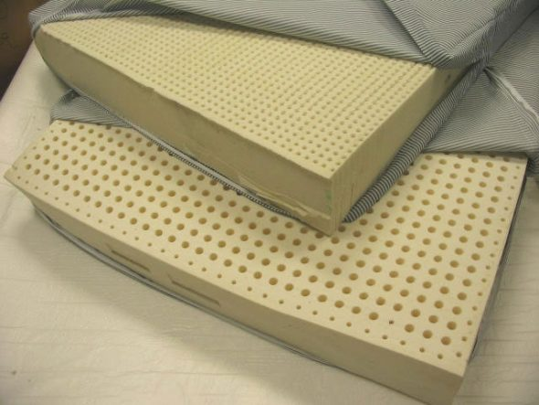 Matelas en latex artificiel