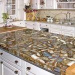 Solution inhabituelle pour les comptoirs de cuisine