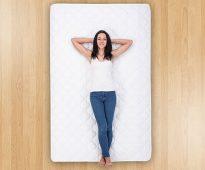 We selecteren de lengte van de matras