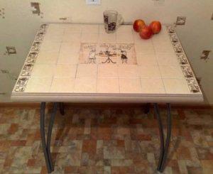 Table en céramique