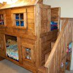 Élégant cottage en bois fait main