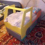 Option simplifiée d'une voiture-lit pour enfants